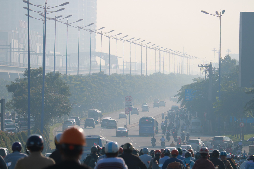 Air pollution in Ho Chi Minh City. Photo: Ngoc Phuong / Tuoi Tre