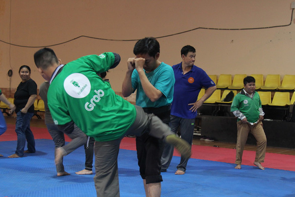 Ho Chi Minh City police to provide Grab drivers with self-defense skills