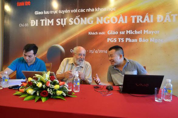 2019 Nobel laureate Michel Mayor leaves good impression in Vietnam on past visits