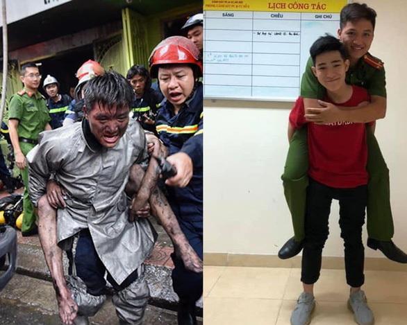 Vietnam teen recreates adorable 'piggyback' photo with fireman who saved his life