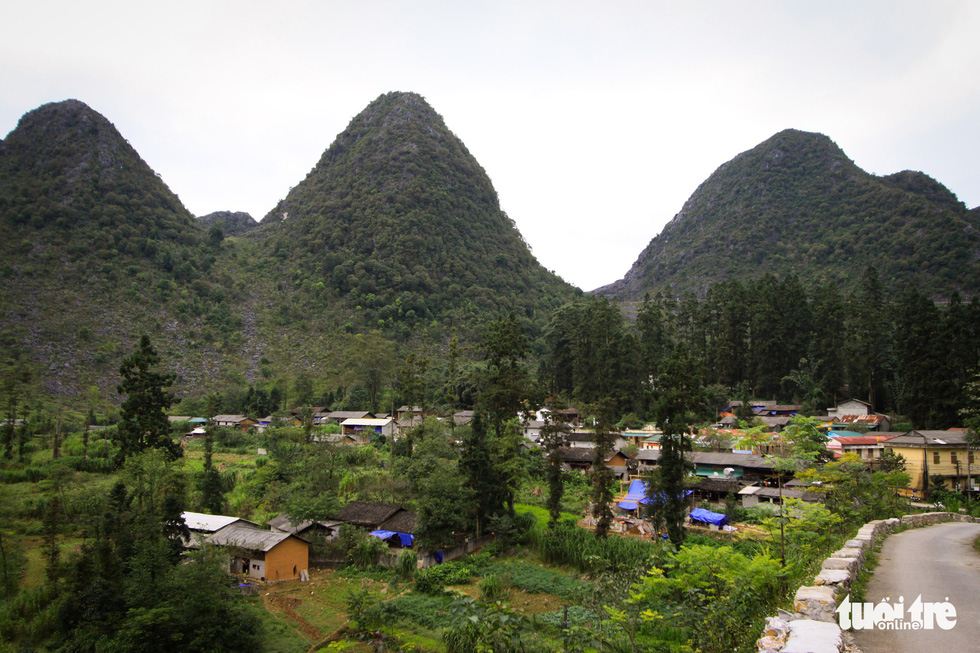 Sa Phin Valley located in Dong Van District, the northern province of Ha GIang. Photo: Tan Luc / Tuoi Tre