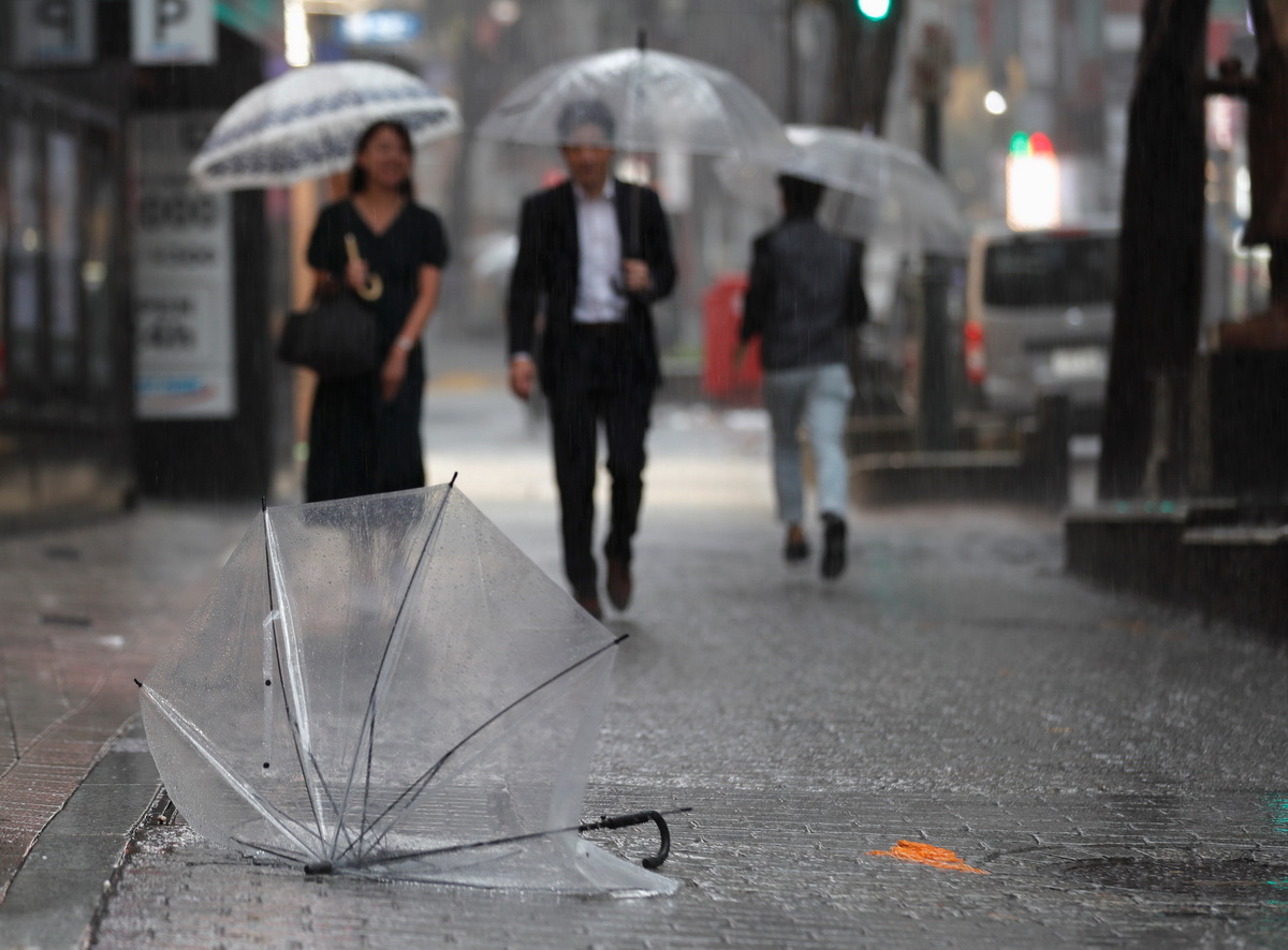 Power outages, evacuations as Typhoon Hagibis takes aim at Japan