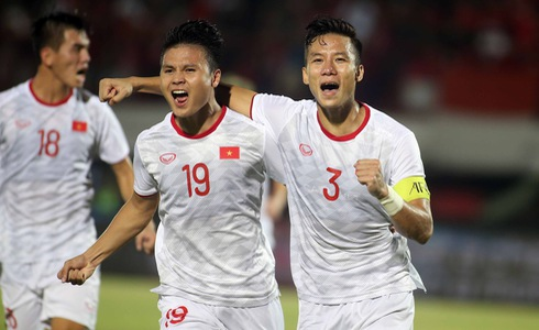 Vietnam cruise past Indonesia in second FIFA World Cup qualification triumph