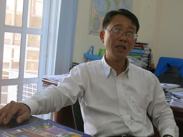 Vo Thanh Sang, deputy director of the Ho Chi Minh City statistics office. Photo: Mai Huong / Tuoi Tre