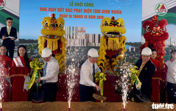 First sod turned at second waste-to-energy plant in Ho Chi Minh City