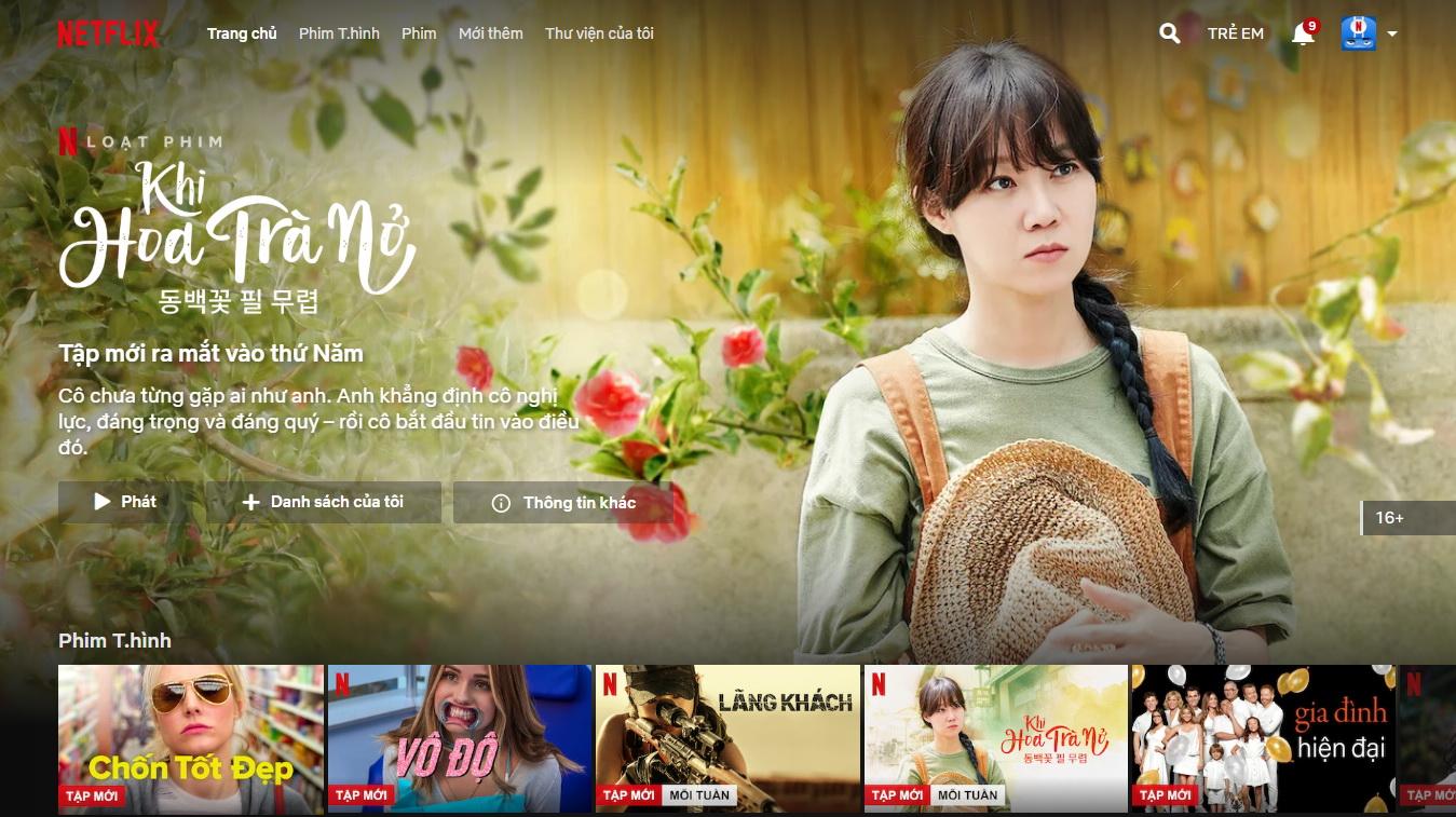Netflix launches Vietnamese user interface