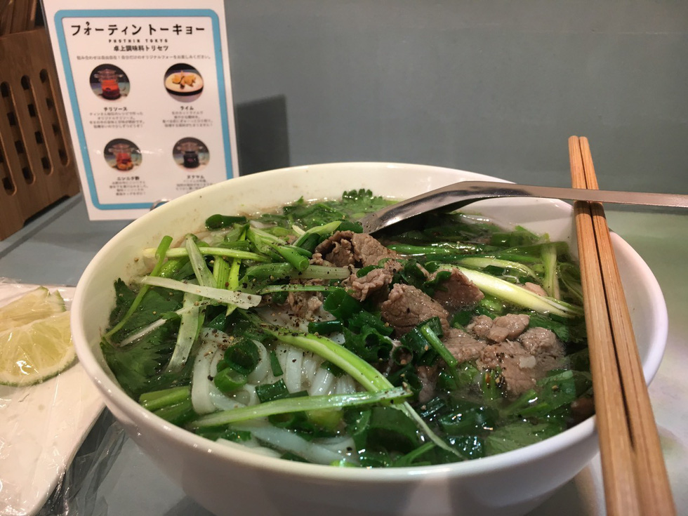 Famous Hanoi pho a huge hit with Tokyo diners