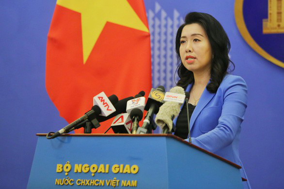 Foreign ministry remarks on Chinese ships' exit from Vietnamese waters