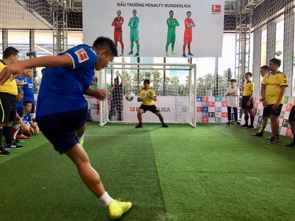 Bundesliga's first Vietnamese penalty shootout contest takes place in Ho Chi Minh City