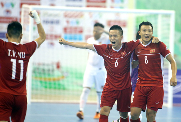 Vietnam win place in 2020 AFC Futsal Championship finals after routing Myanmar