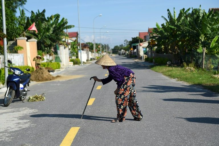 Vietnam's central provinces have long been locked in poverty - battered by environmental disasters, lacklustre development and unpredictable weather. Photo: AFP