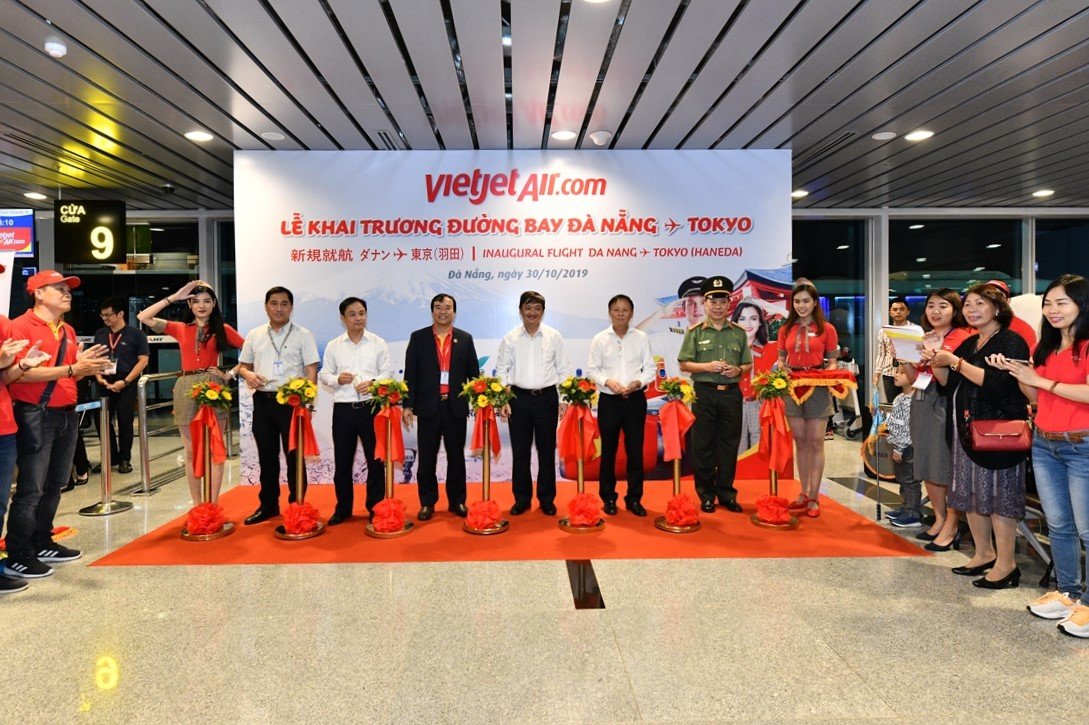 Vietjet offers first direct service from Da Nang to Haneda in Tokyo