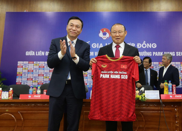 Korean manager says feels 'more pressure' in new contract to lead Vietnam national football team