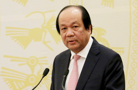 Vietnamese Minister and Chairman of the government office Mai Tien Dung. Photo: Ngoc Hien / Tuoi Tre