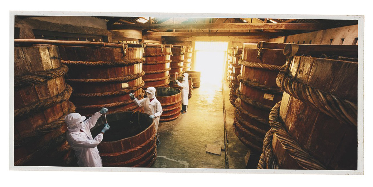 A fish sauce making facility in Phu Quoc, Kien Giang Province, Vietnam. Photo: Tuoi Tre