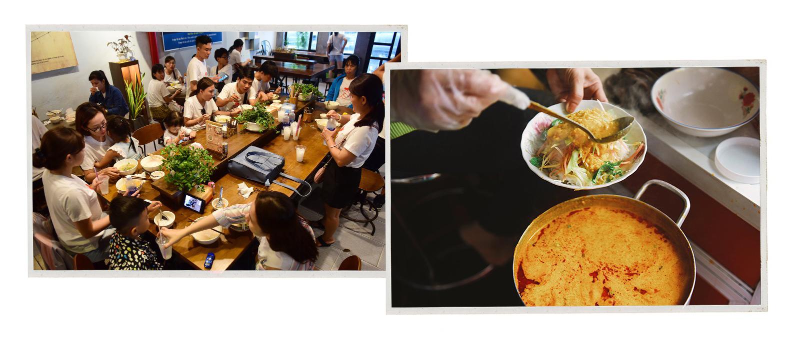 Phu Quoc's famous 'bun ken' noodle soup. Photo: Tuoi Tre