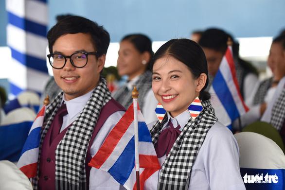 Thai delegates of the SSEAYP 2019. Photo: Duyen Phan / Tuoi Tre