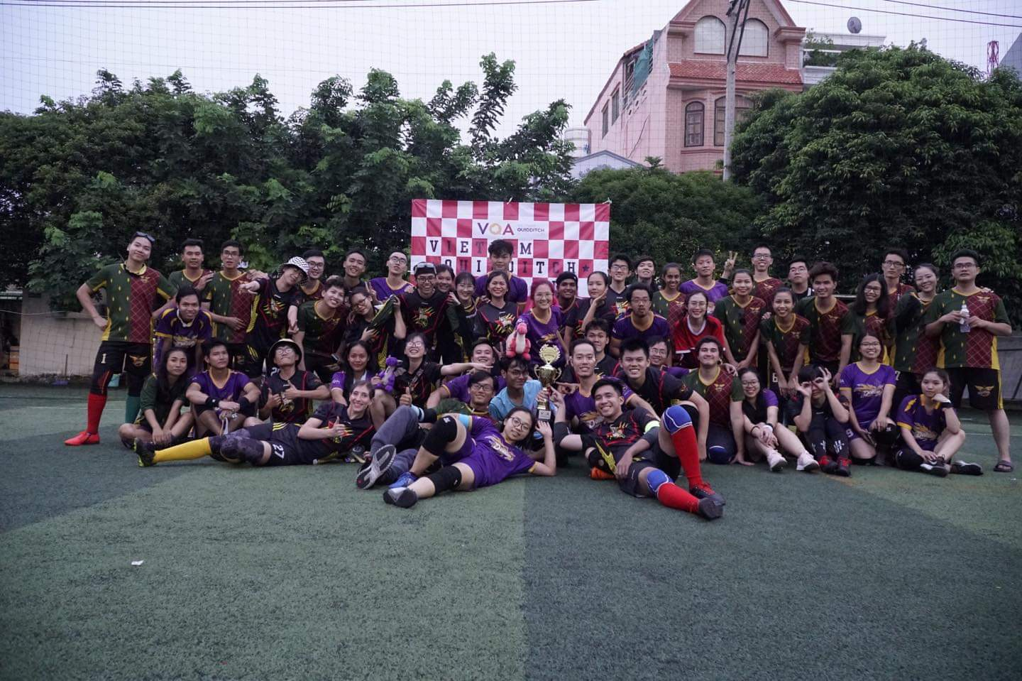 Vietnam's first 'quidditch' cup brings to life Harry Potter's fictional broomstick-mounted sport