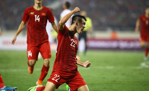 Vietnam beat UAE to sit atop Group G in FIFA World Cup qualification