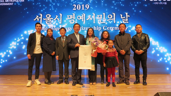 First Vietnamese named honorary citizen of Seoul