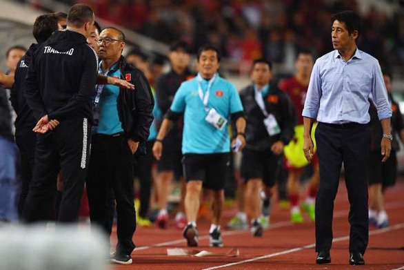 Thailand's goalkeeping coach apologizes for mocking Vietnam head coach in World Cup qualifier