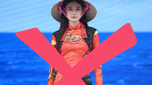Chinese brand accused of appropriating Vietnam's 'ao dai' in old fashion collection