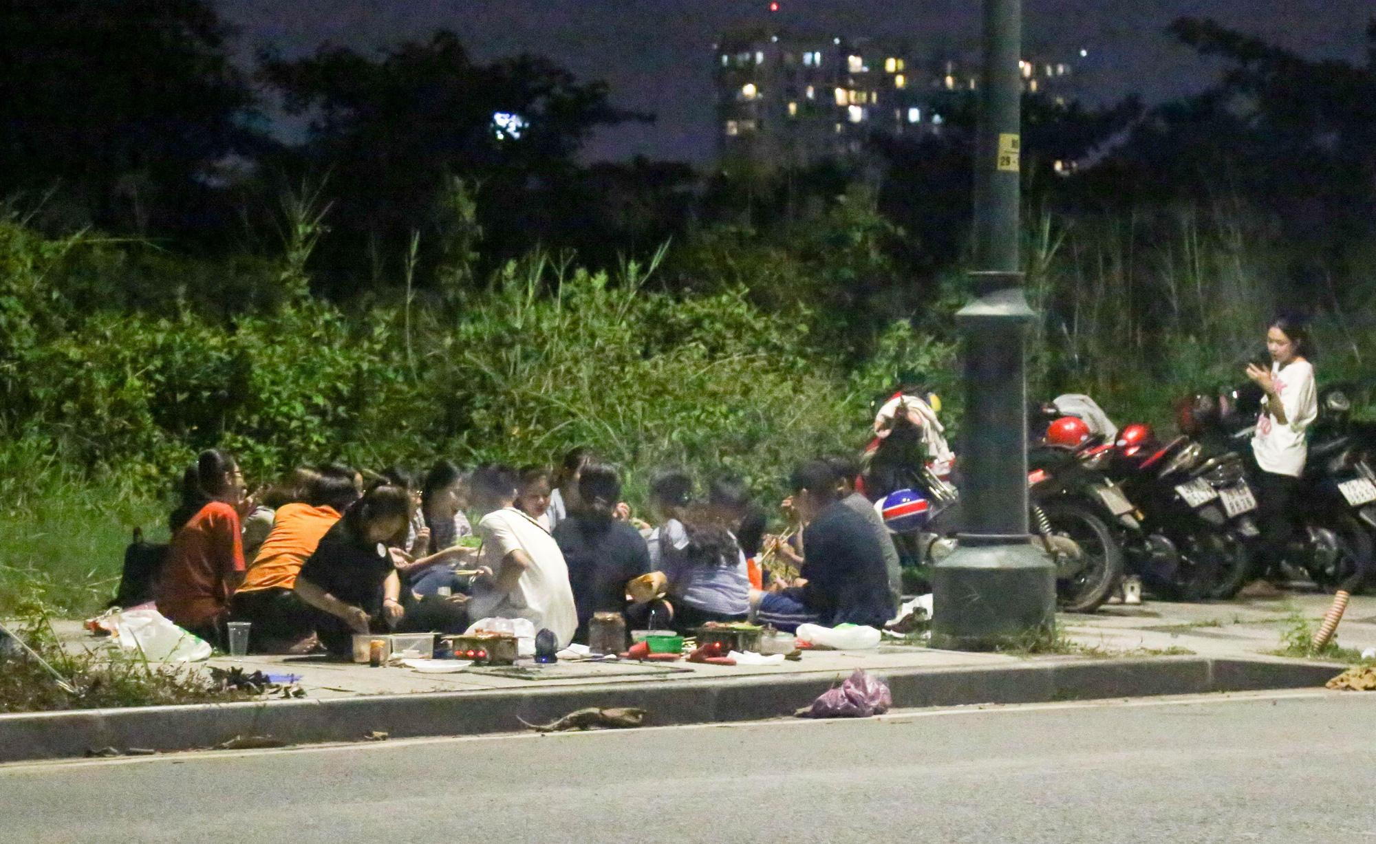 Roadside BBQ parties a headache in Ho Chi Minh City's new urban area