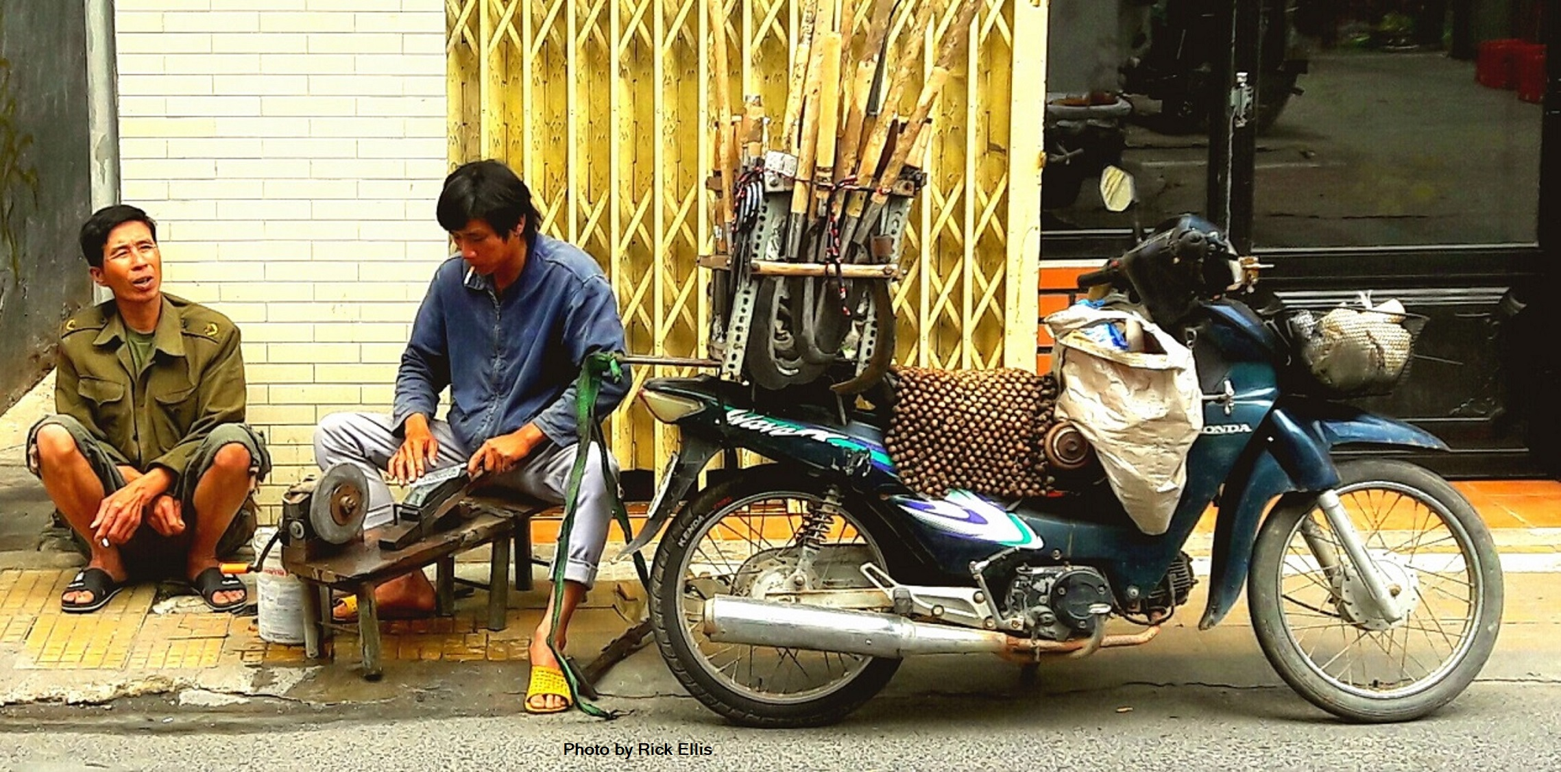 Businesses on wheels in Vietnam