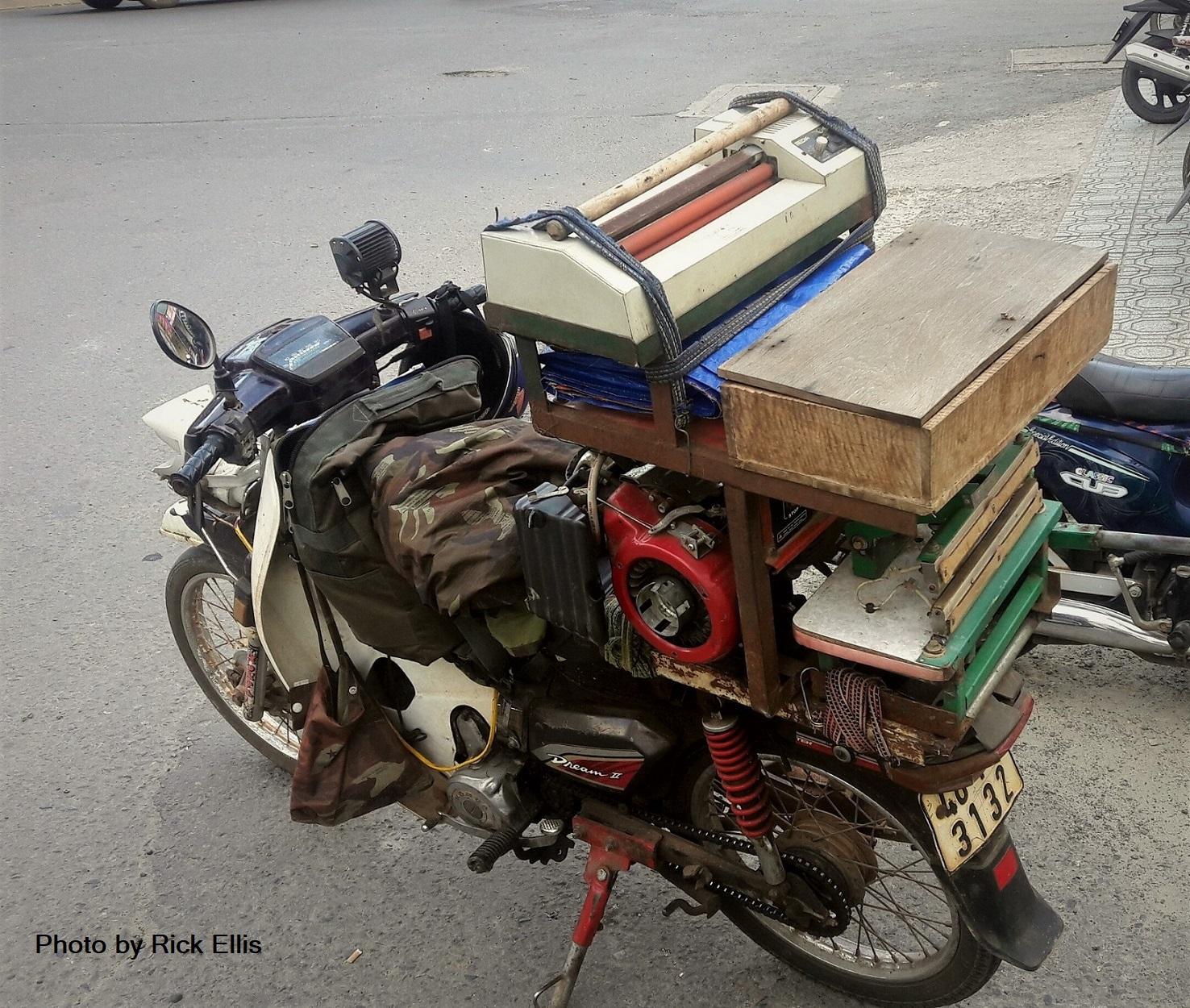 <em>Lamination Motorbike!</em>