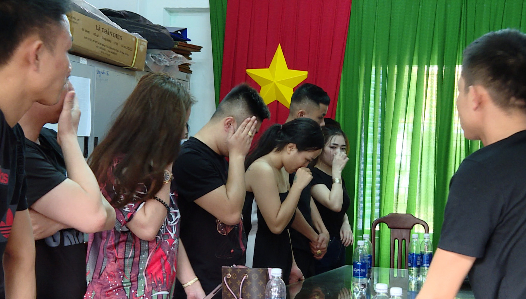 14 men, 8 women caught using ecstasy inside beachfront villa in southern Vietnam