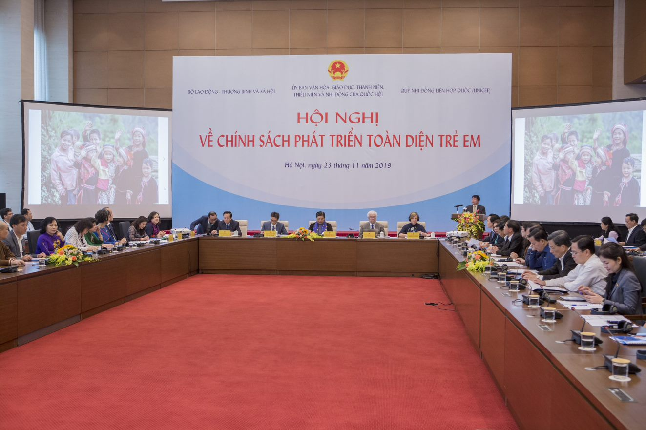 High-level conference organized to strengthen Vietnam's policies for comprehensive development of children