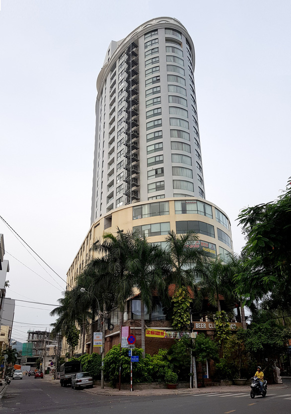 The Bavico condotel building in Nha Trang City, the capital of the south-central province of Khanh Hoa. Photo: Duy Thanh / Tuoi Tre