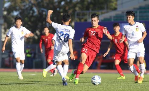 Vietnam men's football squad chalk up second big win at 2019 SEA Games