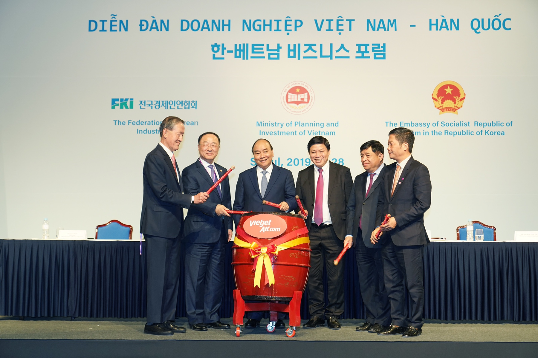 Vietjet announces new routes from Vietnam to Seoul