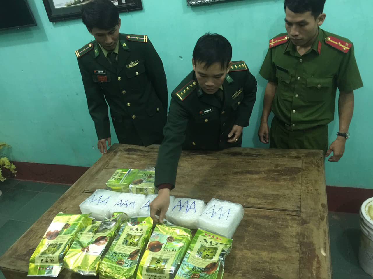 Suspected narcotics wash up on Vietnam beaches