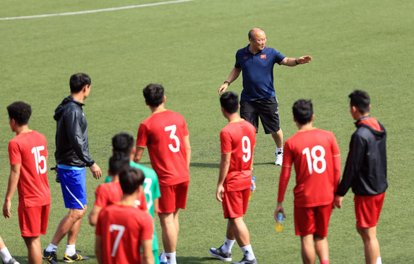 Vietnam prepared for 'tough' semifinal against Cambodia in SEA Games men's football