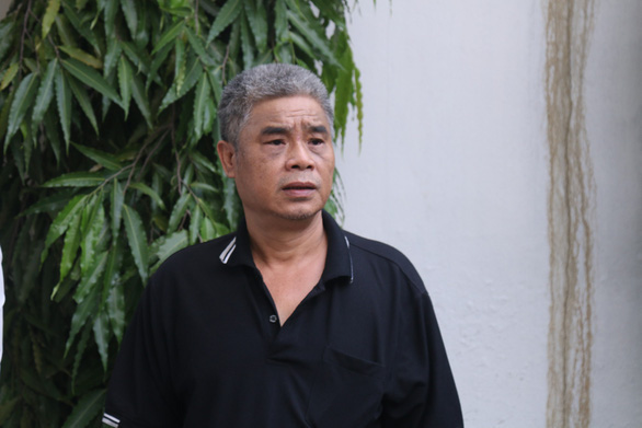 Doan Quy Phien, driver of the Gateway School's school bus involving in the death of a first grader who was neglected for nine hours on August 6, 2019. Photo: Nam Tran / Tuoi Tre