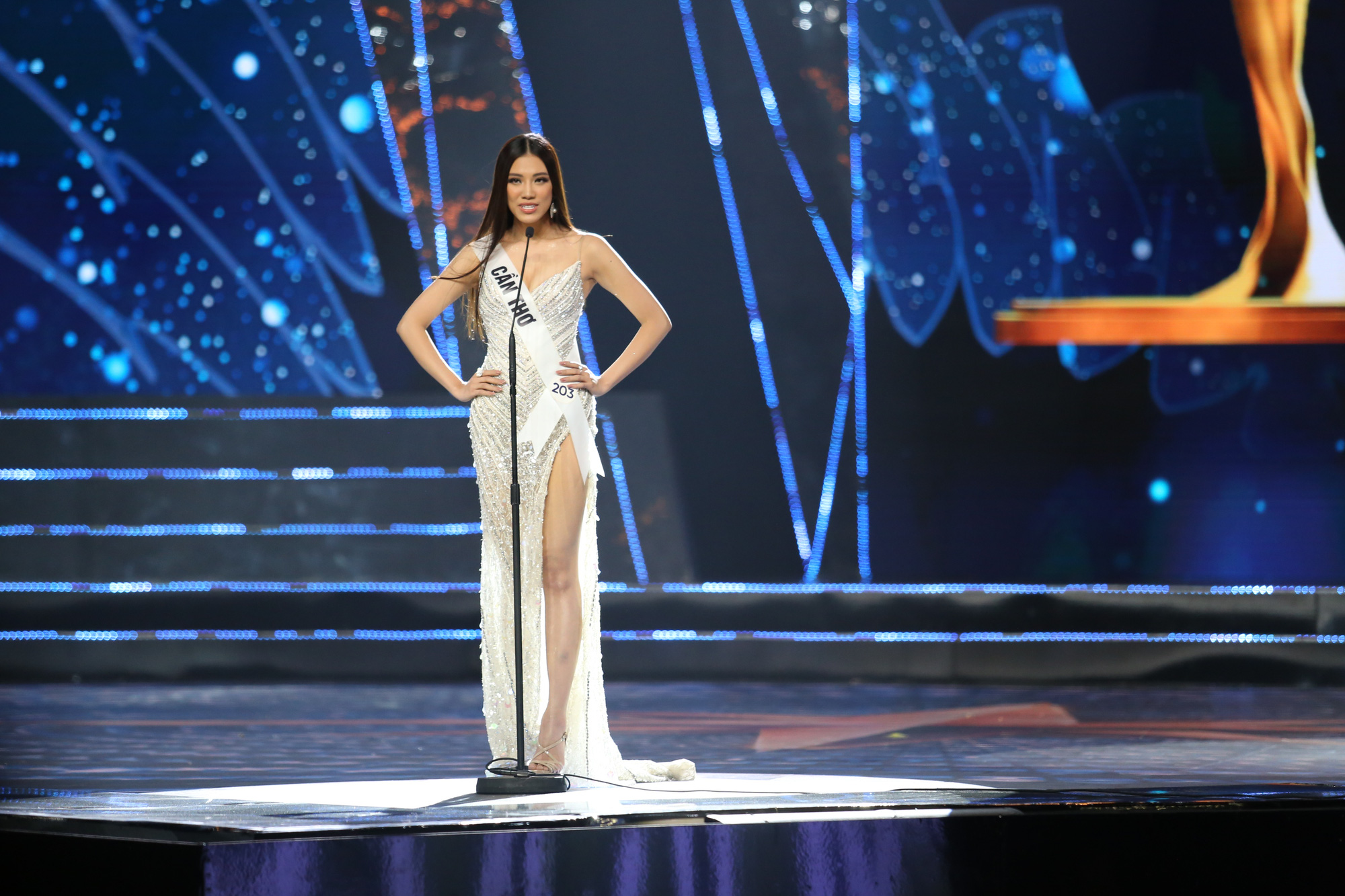 Nguyen Huynh Kim Duyen, first runner-up of Miss Universe Vietnam 2019
