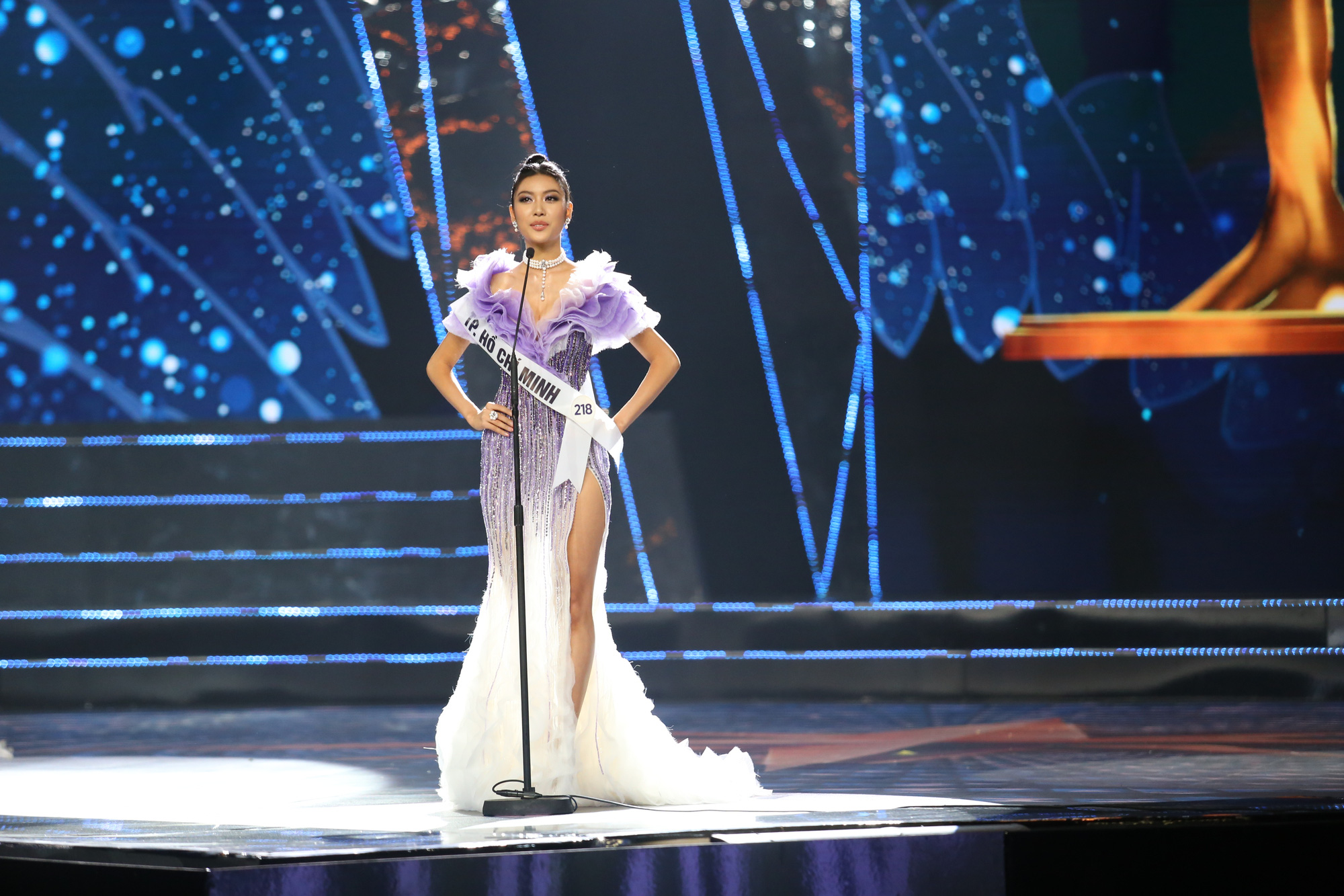 Pham Hong Thuy Van, second runner-up of Miss Universe Vietnam 2019
