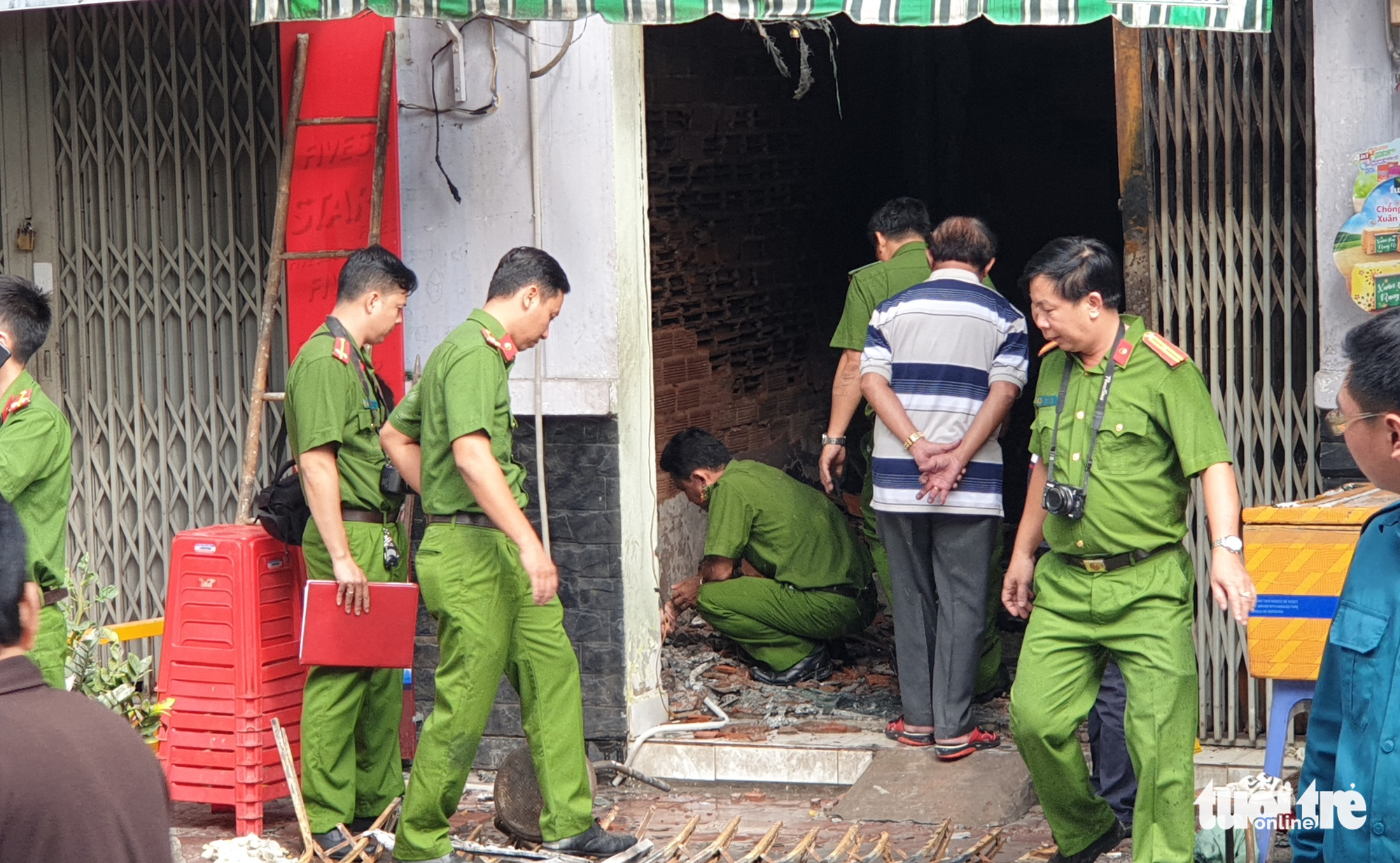 Three family members killed in Ho Chi Minh City house fire