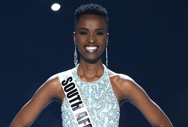 Miss Universe 2019 Zozibini Tunzi. Photo: Fox