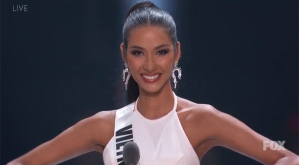 Vietnam beauty finishes in Top 20 at Miss Universe 2019