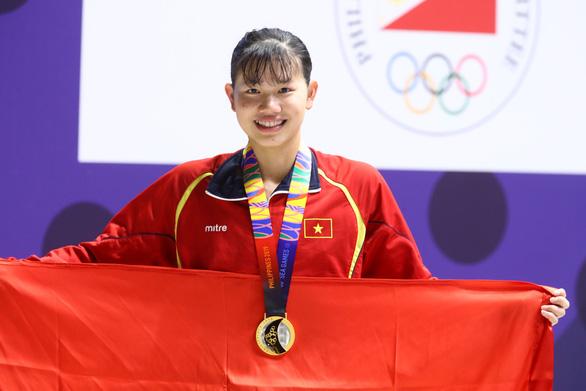 Vietnam's swimmer Nguyen Thi Anh Vien adjudged Female Mega Athlete at SEA Games