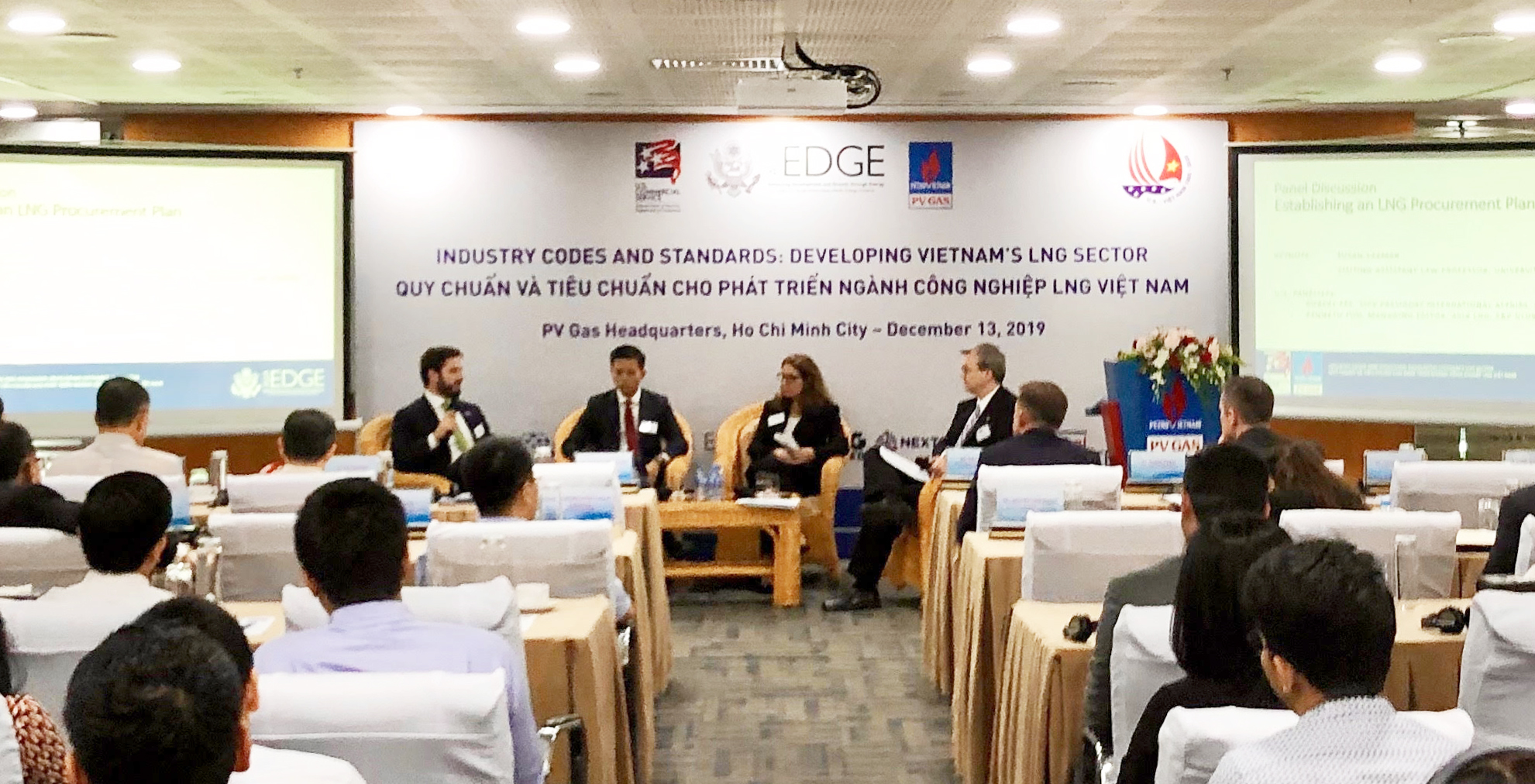United States partners with Vietnam's PV Gas to define LNG standards