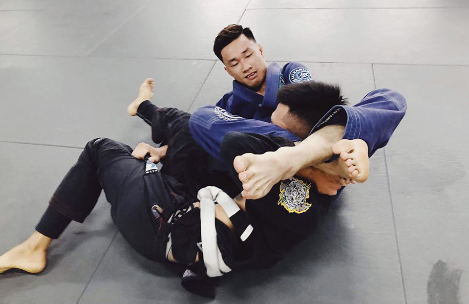 Chef, personal trainer, business professionals on Vietnam's SEA Games jiu-jitsu squad
