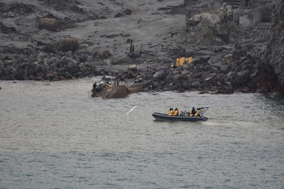 Six bodies retrieved from New Zealand volcanic island as survivors face long recovery