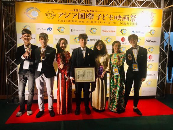 Vietnamese students win excellent prize at Asian Int'l Children's Film Festival
