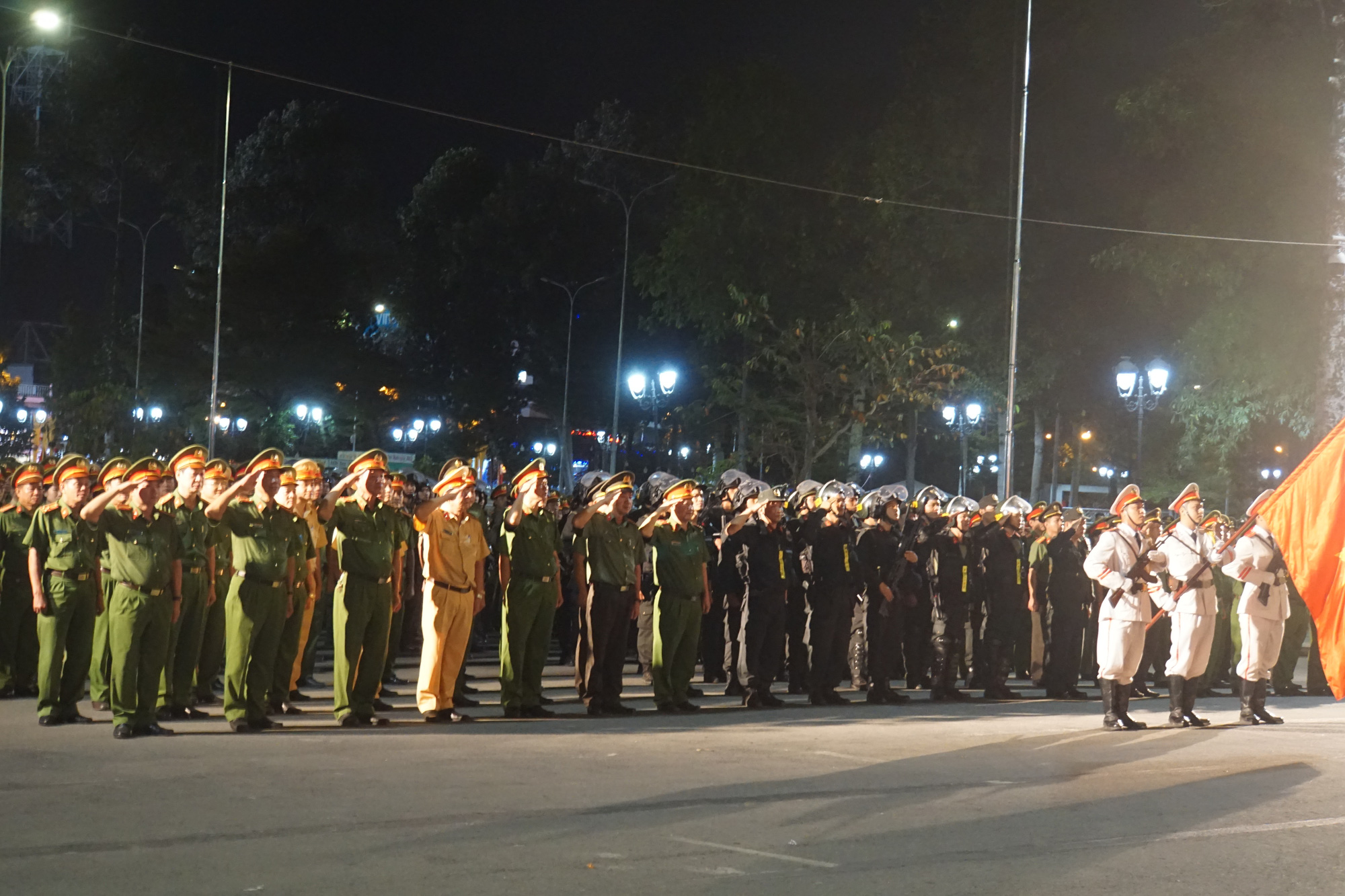 Dong Nai police launch crime-fighting drive ahead of Lunar New Year
