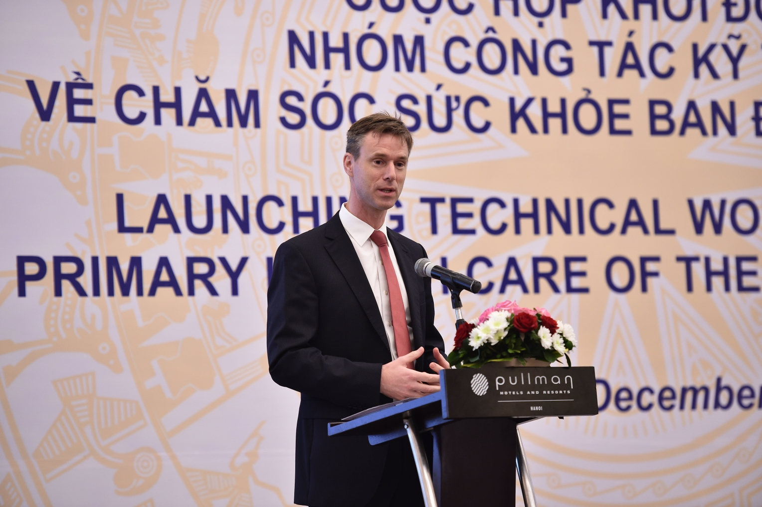 Mr. Roeland Roelofs, Country President at Novartis Viet Nam