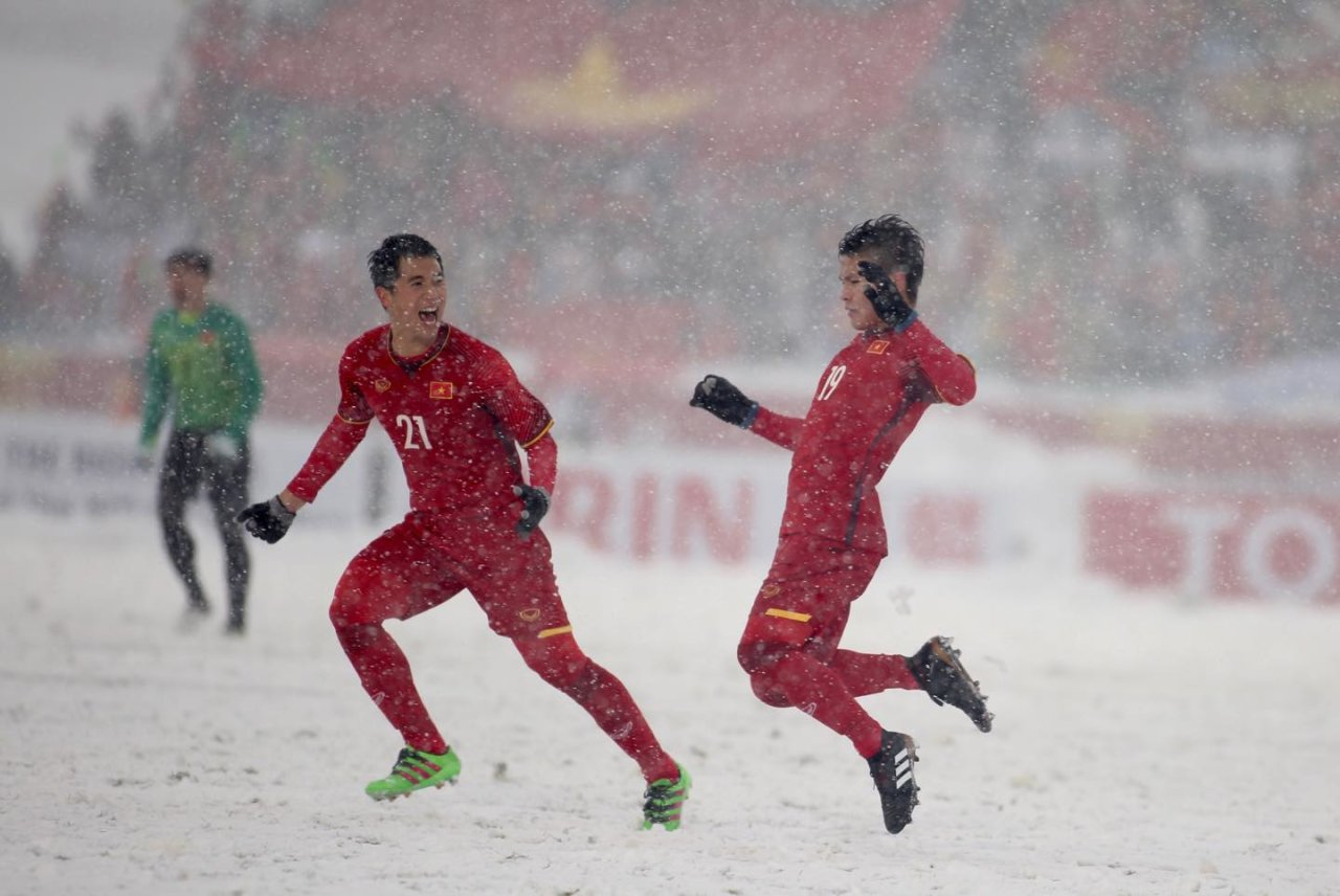 'Rainbow in the Snow' by Vietnam's Nguyen Quang Hai voted most iconic AFC U23 goal